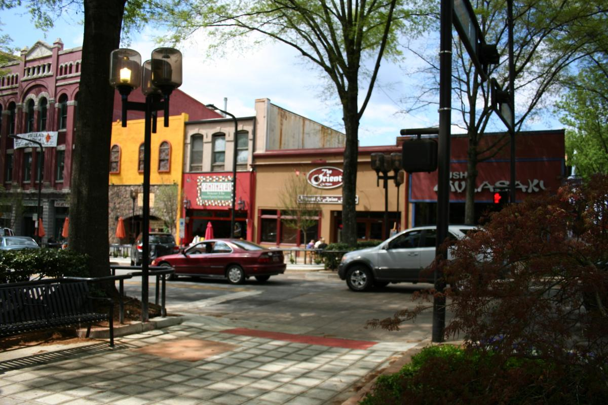 Downtown Greenville SC Restaurants